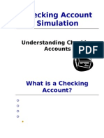checking account simulation powerpoint presentation 171g1[1]