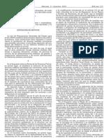 BOE nº313 Reconocimiento de la Ley Medidas Fiscales 62/2003, 30Dic