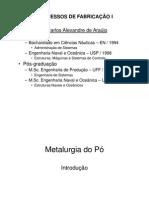 T+¦pico 3  -  FUNDAMENTOS DE METALURGIA DO P+ô