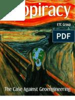 39698406 Geopiracy the Case Against Geoengineering