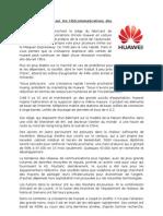 Huawei Traduit (texte 5)
