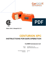 Centurion Xp Series Safe Operation Manual Csa