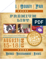 Douglas County Fair Premium List 2013