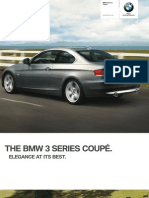 2010 BMW 3 Series Coupe Catalogue