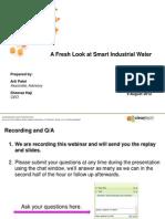 CTG Webinar Industrial-Water Aug 9