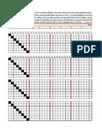 Matriz 8x8. Simulacion con EXCEL