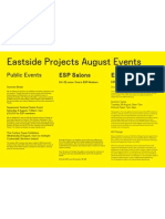 August Events 2012