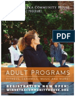 Adult Classes at WCH Fall 2012