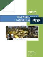 Blog Critical Assessment