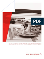BAIN REPORT Global Healthcare Private Equity Report 2012