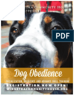 Dog Obedience at WCH Fall 2012