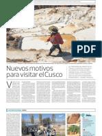Cusco renueva su oferta turismo