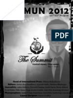 IPU MUN 2012 -- Introductory Issue