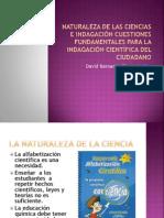Naturaleza de las Ciencias e Indagación Cuestiones Fundamentales
