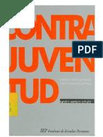 Sandro Venturo Schultz - Contrajuventud