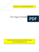 Origin of Kaddish Handout