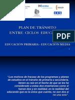 Tránsito - Presentación del PLAN