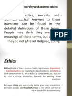 1 Ethics