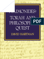 7384238 David Hartman Maim on Ides Torah and Philosophic Quest