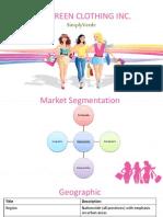 SimplyGreen Marketing Plan
