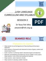 Language Curriculum Ppt
