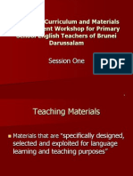 Session 1 - What Are Teaching material