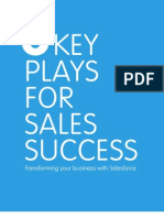 8 Key Plays for Sales Success
