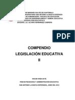 COMPENDIO LEGISLACIÓN