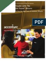 Accenture Returns Repairs