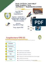 CAPITULO 1 DEFINICION E IMPLEMENTACION DE CAPAS DEL MODELO OSI Y TCP/IP EN LINEAS DE COMANDOS