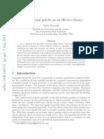 Loop Quantum Gravity as an Effective Theory_Martin Bojowald