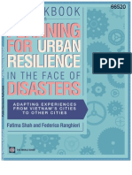 Workbook on Planning for Urban Resilience