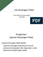 Laporan Keuangan Fiskal_F1311025