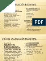 GUÍA DE CALIFICACIÓN REGISTRAL