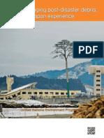 Managing post-disaster debris