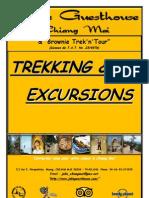 Trekkings, Chiang Maï, Thaïlande par Julie Guesthouse