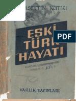 Eski Türk Hayatı