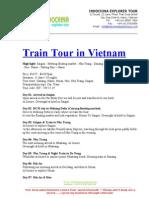 Train Tour in Vietnam