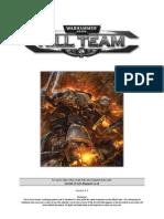 Warhammer 40,00 Kill Team Rules