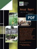 IDSP - Annual Report 2007