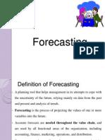 Forecasting 1
