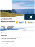Zenergy - Supraleiter Anwendung Wasserkraft