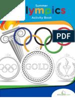 Olimpics Activity Book