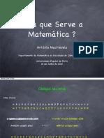 Para Que Serve a Matematica
