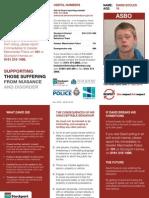 David Eccles ASBO Leaflet