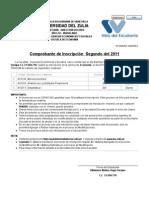 Reportes del Sistema de Inscripción en LÍNEA