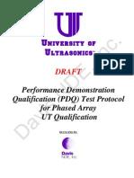 Pdq Test Protocol
