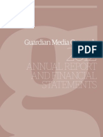 GMG Annual Report 2012