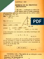 0d1cap 13 Relaciones Metricas en El Triangulo Rectangulo
