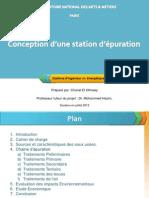 Conception d'Une Station d'Epuration